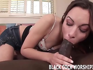 You are here to watch me riding big ebony cock