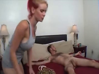 Step sister domination tugjob