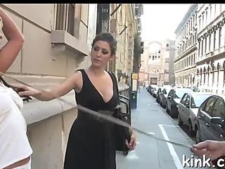 Giant titties,menacing yielding housewife