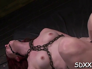 Ruogh sex session for slender hottie