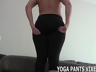 U can jerk off during the time that i taunt u in yoga subjugation joi