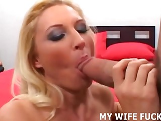 I want to watch my wife riding a big pornstar cock