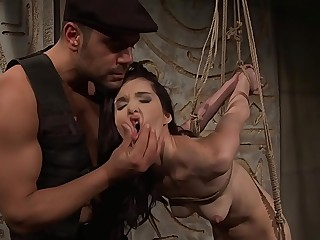 She borns to be submissive.BDSM bondage sex movie.