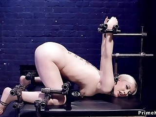 Blonde legend slave taskes zipper