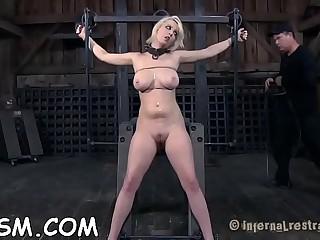Hard spanking for masked hottie