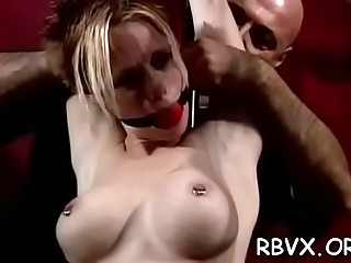 Adorable gal is sextoy her ass with a sex toy
