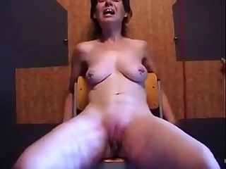 humiliation of a mature German whore