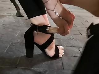 Barefoot in public