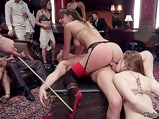 Orgy submission and nailing brunch party