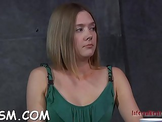 Ambitious darling got a huge meat member up her tight pussy