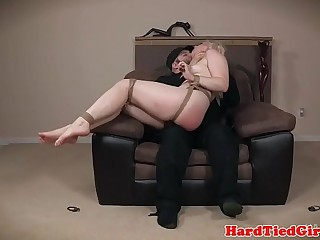 Smalltits submissive beauty gets punished